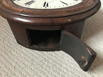 Oak Fusee Wall Clock by Elliott of London 3