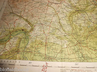 Bartholomew's Survey Map for Tourists & Cyclists - Bedford/Hertford - c1915 (25) 5