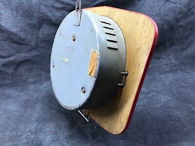 Antique Pendulum Kitchen Ffr Mechanical, Black and Red Vintage Formica 5