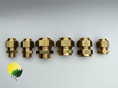 Verschraubung Edelstahl Wellrohr Solar DN 20 25 32 AG Zoll  DN16-40