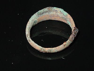Perfect  Alanians,Khazarians Finger Ring #2. Saltovo-Mayaki culture  c 7-9 AD. 5