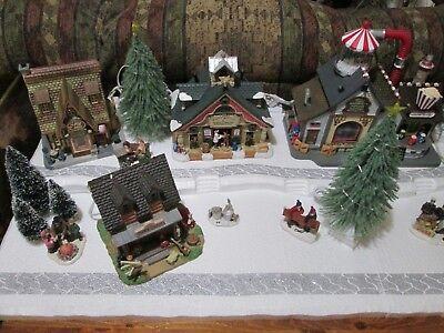 Christmas Village Platforms.4 Ft Christmas Village Display Base Platform J43 For Lemax Dept56 Dickens More