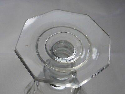 Monogramm Kelchglas geschliffen graviert wohl Böhmen um 1900 (Nr. 1123) 8