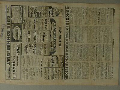 Samuel Hahnemann Homöopathie 28.07.1935 Welt am Sonntag Cafe Luitpold München 5