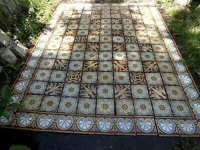 tiles victorian ceramic sand feignies perusson boch metlach boulenger 1900 12