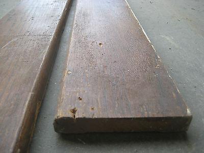 """VICTORIAN golden oak window door CASING molding header & pilaster set 40"""" x 61"""" 9"""