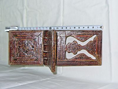 BOOK STAND  KOREAN FOLDING BOOK HOLDER MOSAIC ISLAMIC MIDDLE EAST 18th CENTURY 6