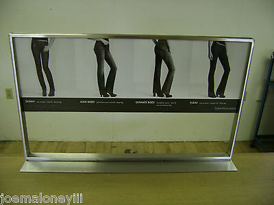 6 Of 10 3 Tier Shelf Merchandiser Jeans Display Table Retail Display  Shelving Unit
