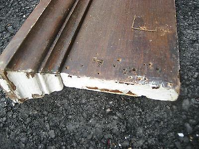 """VICTORIAN golden oak window door CASING molding header & pilaster set 40"""" x 61"""" 3"""