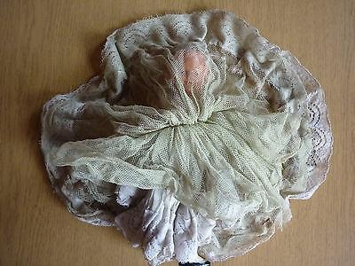 Dachbodenfund alte antike Massepuppe EBE 23 cm für Puppenstube