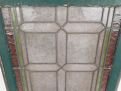Vintage Stained Glass Window Panel (3189)NJ