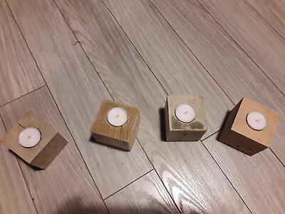 Fantastique Que Faire Avec Cube De Palette photophores bougeoirs en cube de palettes avec bougie - eur 5,00