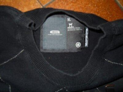 PULL G STAR RAW taille XL noir et gris 100% coton col rond