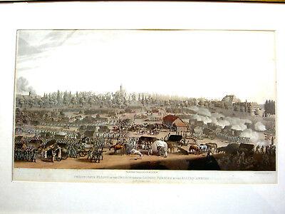 Leipzig, Völkerschlacht, 1813, Panorama des letzten Aktes  Franzosen, von Bowyer