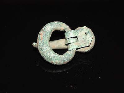 Bronze huge belt buckle.  Goths. ca 200-400 AD 5