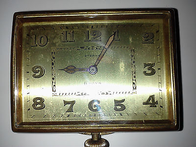 Rare 1920,s 8 days Eterna car clock, running 3