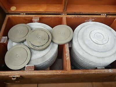 Cased Set Of Calibrator Test Weights PSI  Dead 4