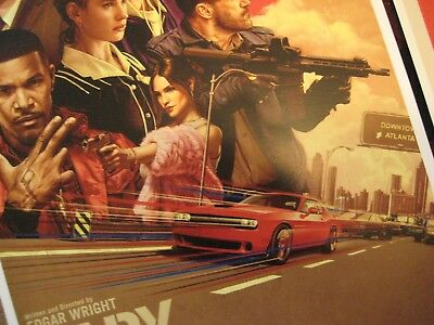 """Baby Driver  (11"""" x 17"""") Movie Collector's Poster Prints (Set of 3) 3"""