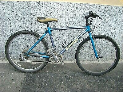 """Raleigh C40 MTB Bike Frame Large 20/"""" 1990s USA Made Hardtail Canti Steel Charity"""