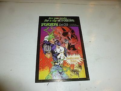 WIDOW Comic - Metal Gypsies - No 1 - Date 1995 - London NIght Comics 5