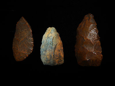 """Pre-Columbian Stone Tools """"Projectile Points"""", 100% Authentic 4"""