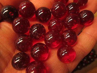 """CRANBERRY or MARBLE LOT 2 POUNDS OF 5//8/"""" WINE CHAMPION MARBLES FREE SHIPPING"""