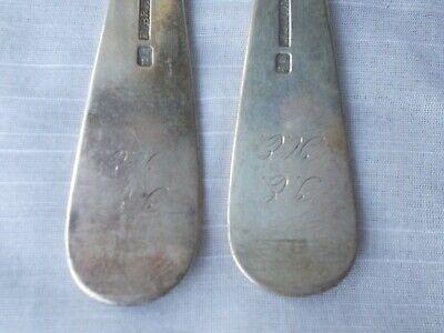 2 FREDERIK JULIUS BRINCK 1856 DINNER FORKS Norway 830 Sterling flatware 6
