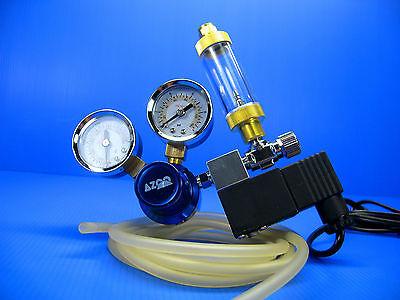 CO2 Pression Régulateur System- magnétique Solenoid Bubble tank contre 10
