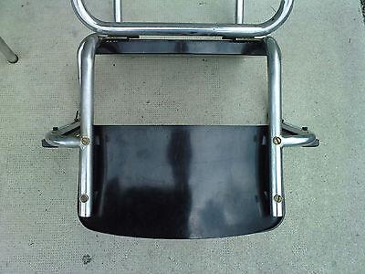 paire de fauteuils rene HERBST bakelite NOIR tubulaire milieu XX eme siecle 3
