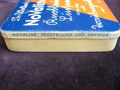 Alte Blechdose Dr. Wolter's NoValine Knoblauch-Linsen - Preis 1,20 Reichsmark 4