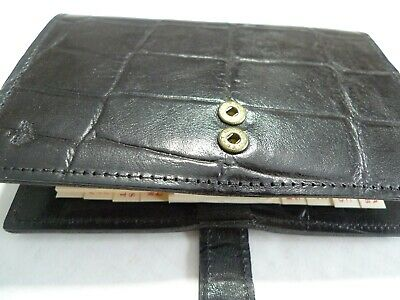 Mulberry-  Pocket Book Leather  Planner- Congo- 1995 New Old Stock --Made In Uk 12