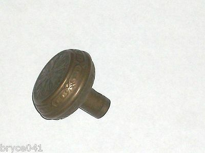 Antique Eastlake Era Fancy Victorian Ornate Door knob
