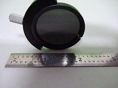 Microscope Pièce ND Densité Neutre Filtre Slide Optiques Tel Quel Bin #Y2-52 3