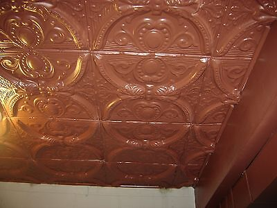 """Antique Tin Ceiling Squares 24"""" x 24"""" stripped.  7844 4"""