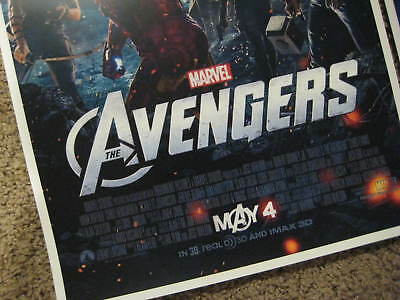 "Avengers -  (11"" x 17"") Movie Collector's Poster Prints (Set of 3) 2"