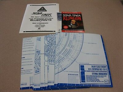 STAR TREK THE USS Enterprise NCC-1701-D Blueprints Ncc D Schematics on