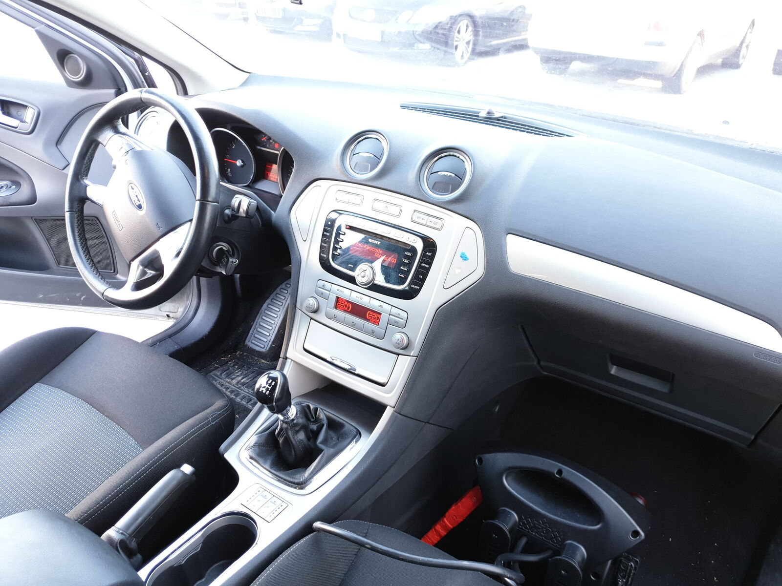 Ford Mondeo IV ba7 Signal De Détresse Interrupteur 6m2t-13a350-ab