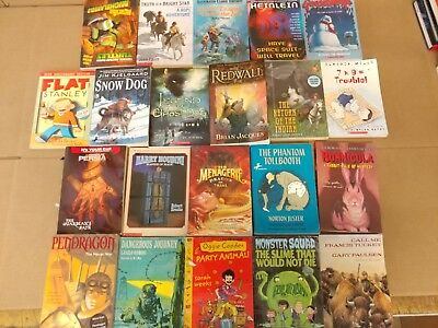 Lot of 20 Chapter Books for BOYS Youth Early Reader Young Adults Children RANDOM 7