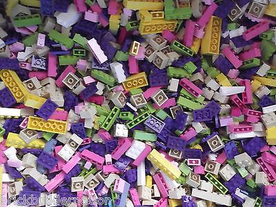 LEGO GIRL FRIENDS PASTEL COLORS LEGOS PARTS /& PIECES HUGE BULK LOT #1 100