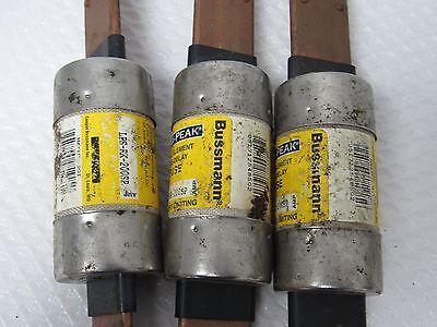 Bussmann Low-Peak Dual-Element Time-Delay Fuse Lps-Rk-200Sp-Lot Of 3