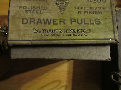 18 Bin Drawer cup Pulls door handles vintage rustic nickel steel 2