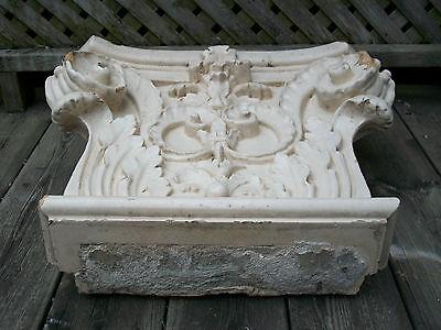 Antique Corinthian Capital - Glazed Ceramic - Canada/U.S. - Late 19th Century 6