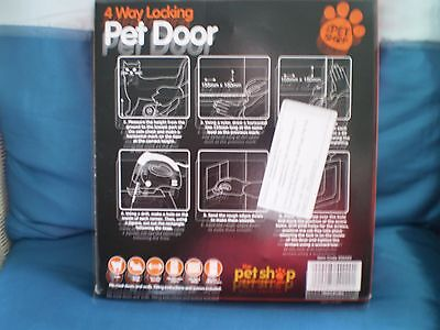 Pet door 4 way 2