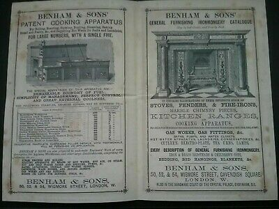 Victorian Adverts Booklet ***(See Photo's) ***(See Description For Details)*** 2