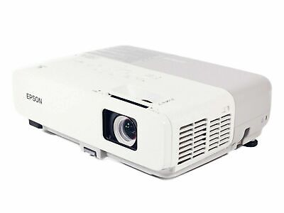 Epson PowerLite 62C LCD Projector Portable HD 1080i HDMI-adapter w//Remote
