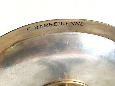 Fine 19c Francés Dorado Bronce Esmalte Taza Barbedienne 7