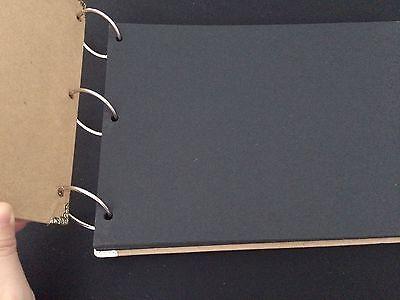 DIY 30Pages 29.7cm x 19.5cm Kraft New Paris Tower Photo Album Wedding Scrapbook