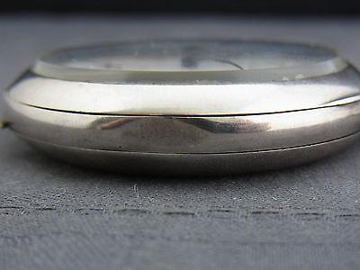 alte Taschenuhr  Omega Silber 800/- Chr. Petersen Husum