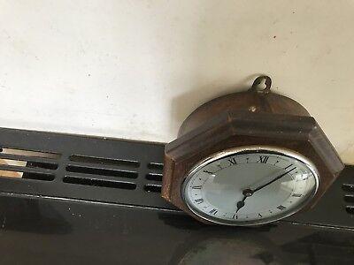 Vintage Oak Cased Wall Clock 6