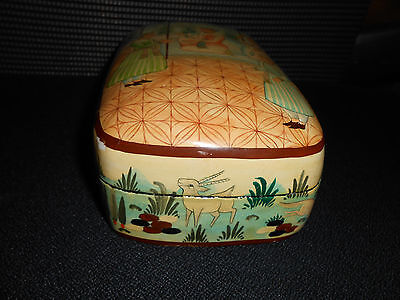 Rare Antique Persian Laquer Box 3